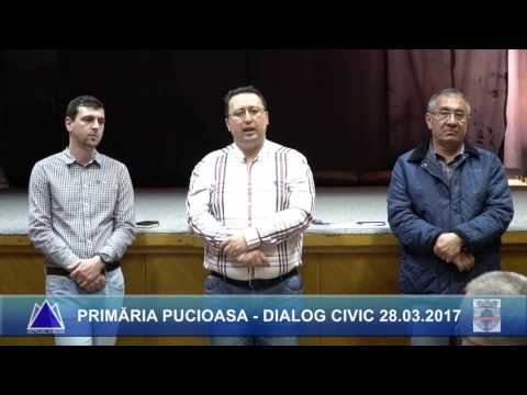 PRIMĂRIA PUCIOASA -  DIALOG CIVIC 28.03.2017