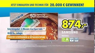 EURONICS Angebot - Samsung QLED TV GQ55Q65RGT