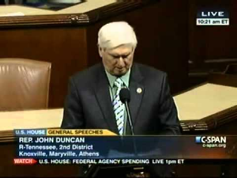 Rep. Duncan Praises Pat Summitt on House Floor