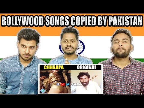Bollywood Songs Copied From Pakistan | Shocking Indian Reaction | Krishna Views