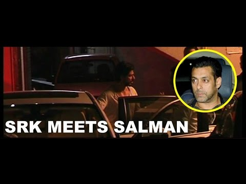 Shahrukh Khan Meets Salman Khan To Wish LUCK For Hit-And-Run Case VERDICT !