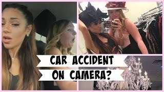 Shop with me, Haul, and CAR ACCIDENT ON CAMERA?