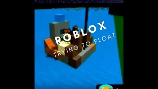 ROBLOX sailing through the waters