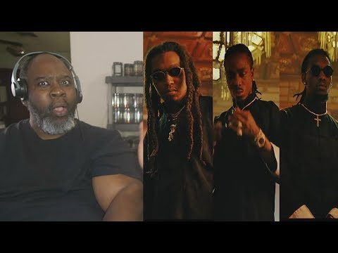 Dad Reacts to Migos - Stir Fry (Official Music Video)