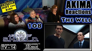 AGENTS of SHIELD 108 | The Well | AKIMA Reactions
