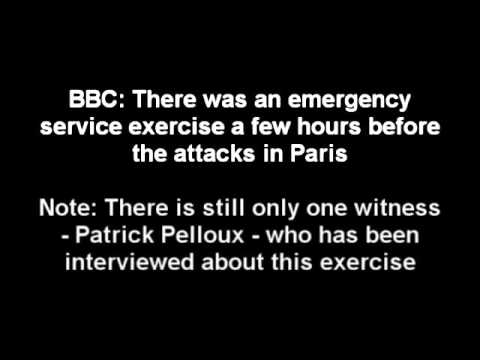 BBC -  Exercise in Paris on Same Day as Attacks