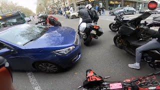 Road Rage MOTARDS vs Automobilistes | FRANÇAIS