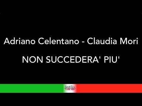 ADRIANO CELENTANO & CLAUDIA MORI - NON SUCCEDERA' PIU' - KARAOKE - KARAOKE ITALIA TUBE - TESTO
