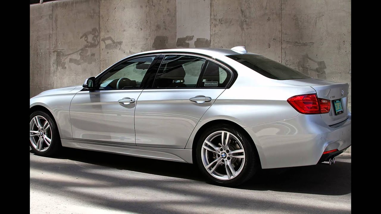 2016 Bmw 320i Sedan Glacier Silver Metallic Youtube