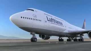 Lufthansa Boeing 747 8I