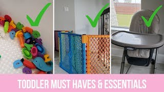 Toddler Must Haves & Essentials Toddler Favorites | The Mom Life