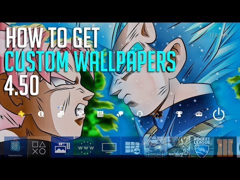 Ps4 How To Add Custom Wallpapers Use Any Photo You Want 4 50 Update Youtube