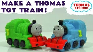 thomas friends make some toy trains with dough like play doh fun toys for kids tt4u