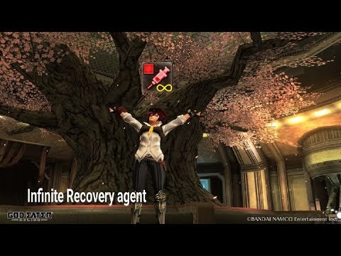 Cheat?! Hack?! Infinite Recovery item God Eater online