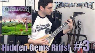 Megadeth HIDDEN GEMS from Youthanasia! 5 RIFFS you wish were LONGER!