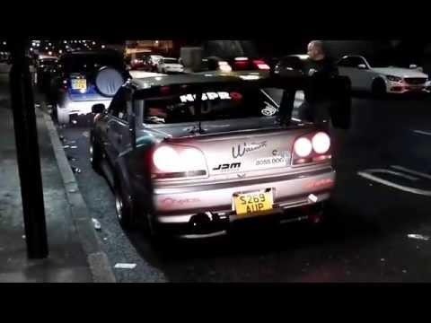 Skyline R34 Sedan @Ace Cafe London