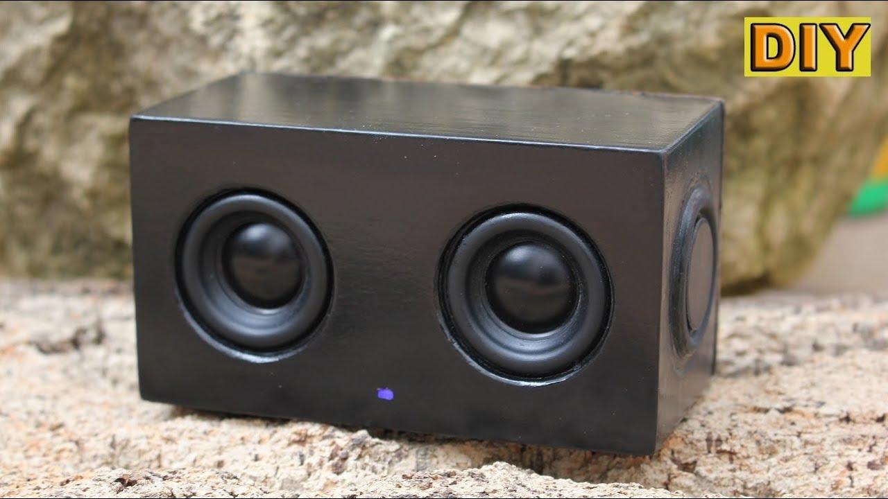 DIY: Mini Bluetooth Speaker - YouTube