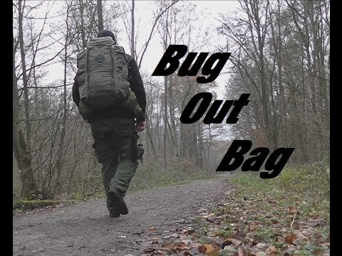 Bug Out Bag - Eberlestock Halftrack - 72h [German-HD!]