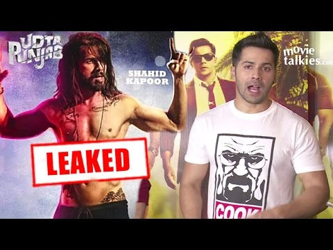 Varun Dhawan On LEAKED Udta Punjab Movie...