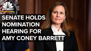 WATCH LIVE: Amy Coney Barrett confirmation hearings for Supreme Court begin in Senate — 10/12/20