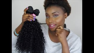 ALIEXPRESS UNICE HAIR || INITIAL REVIEW || INVEST OR SWERVE