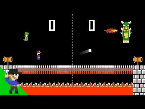 If Pong had Super Mario Physics
