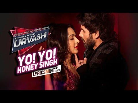 Urvashi || yo yo honey singh || shahid kapoor || new song 2018 || lyrics....