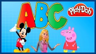 ABC Play-Doh & Peppa Pig Mickey Mouse Barbie Toys