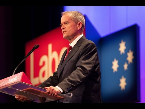 Bill Shorten closes Labor's 48th National Conference