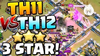 AMAZING! TH11 vs TH12 3 Star Attack in CWL | Art of War vs One Hive | Clash of Clans