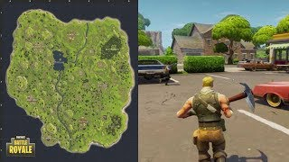 How Long Does It Take To Run Across The Map In Fortnite?