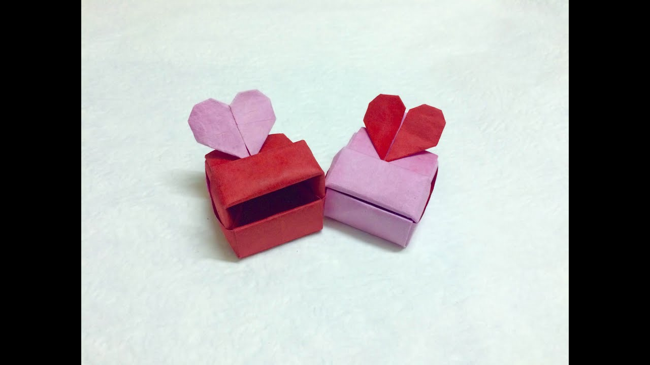 Tutorial Origami Love Box Heart PaperPh2