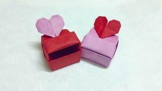 Tutorial: Origami Love box (Heart box)- PaperPh2