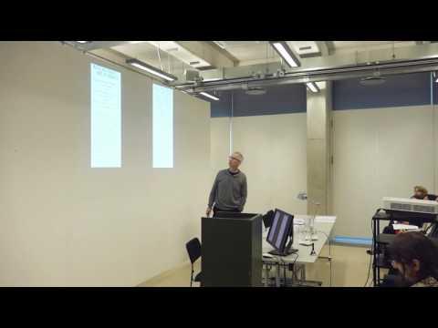 BAHC 2016 - Jeremy Howard (UK) BALTIC ART HISTORY