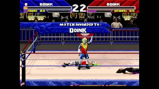 WrestleMania (SNES) - Doink The Clown - WWF Championship