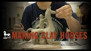 The Trojan Horse Project - Making Clay Horses