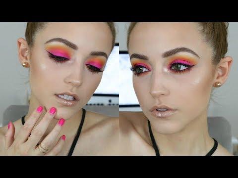 Download Youtube: Hot Pink Sunset | Makeup Tutorial