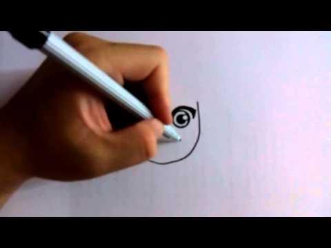 วาดการ์ตูนกันเถอะ สอนวาดการ์ตูน นารุโตะ ง่ายๆ หัดวาดตามได้