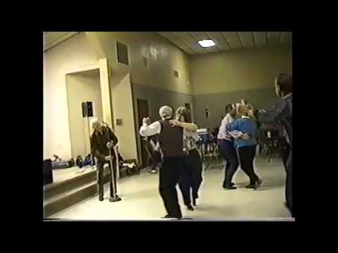 Jam Session and Dance at Wien, MO (clip #21) Old Time Dance #2 with 92 y/o caller Mike Rodgers