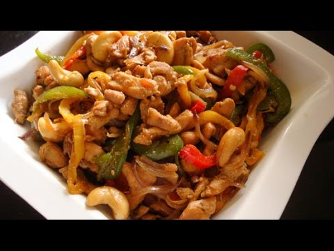 Cashew Chicken | CHINESE RECIPES | QUICK RECIPES
