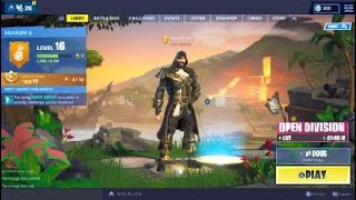 #4 Fortnite Season 8 (showing my account)