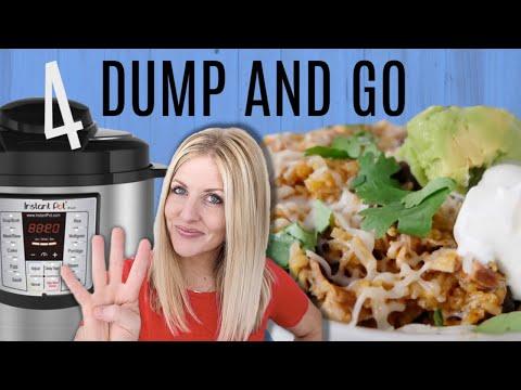4 DUMP AND GO Instant Pot Recipes Easy Instant Pot Recipes