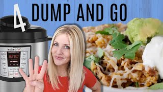 4 DUMP AND GO Instant Pot Recipes - Easy Instant Pot Recipes