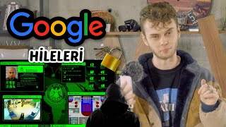 GOOGLE HİLELERİ (Ücretsiz Film İzlemek, Hacker Olmak, Hipnoz Eden Site)
