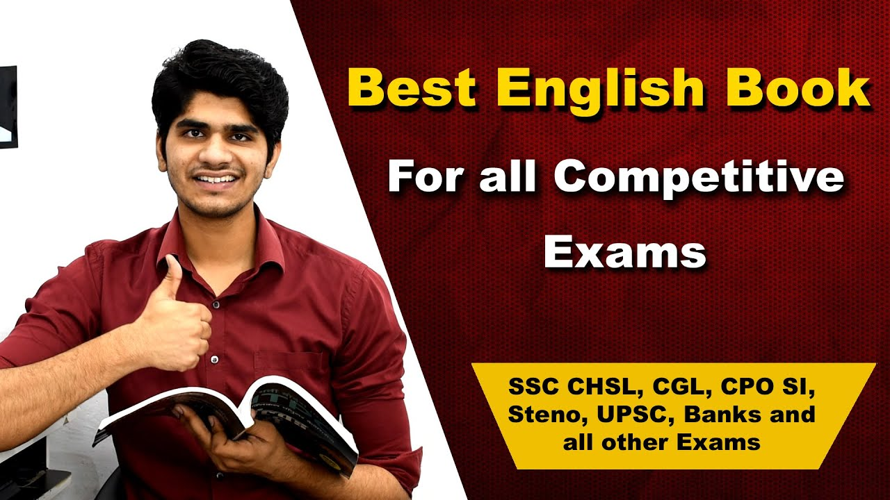 Best English Book for all Competitive Exams | SSC CHSL, CGL, CPO SI, Steno, UPSC, Banks & other exam