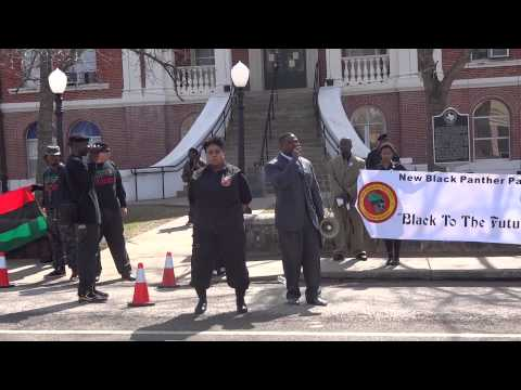 New Black Panther Party Rally For Justice For Alfred Wright In Hemphill, Texas