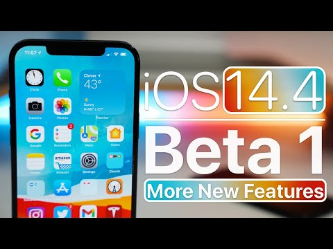 iOS 14.4 Beta 1 - More New Features