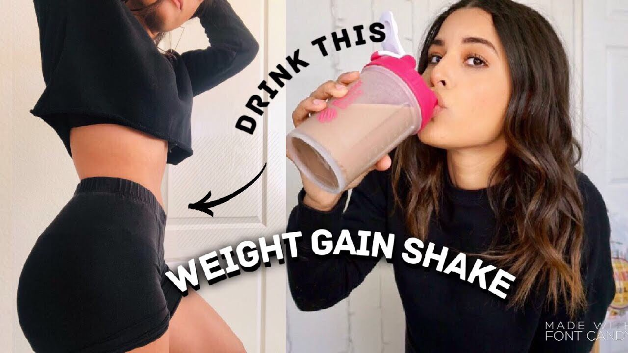 MY 1,000 CALORIE WEIGHT GAINER PROTEIN SHAKE