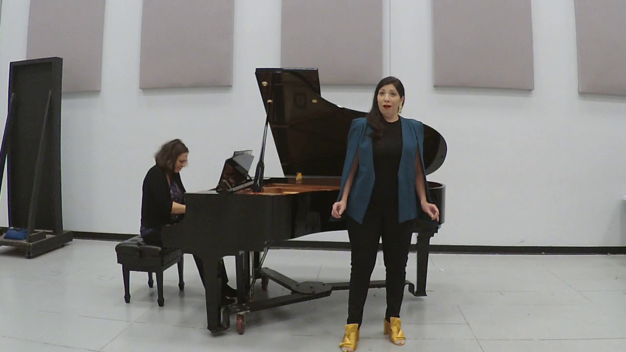 Olga's Aria from Tchaikovksy's EUGENE ONEGIN - Stephanie Sanchez, mezzo-soprano