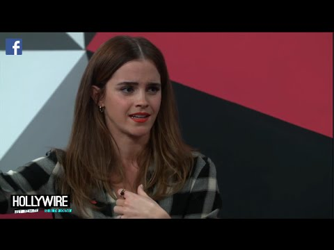 Emma Watson's International Women's Day Gender Equality Q&A! (#HeForShe)